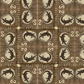 Alligator Stamp