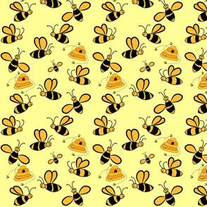 Bee & Beehive
