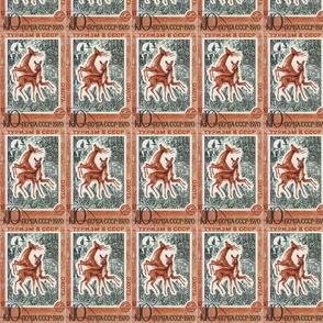 Oxota Stamp