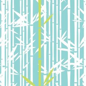 Lush Bamboo Reverse (Koi Pond/Midori)