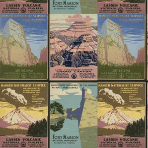 Four National Parks