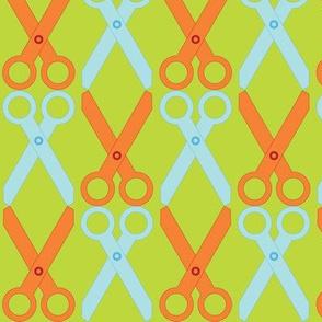 Orange/Blue Scissors