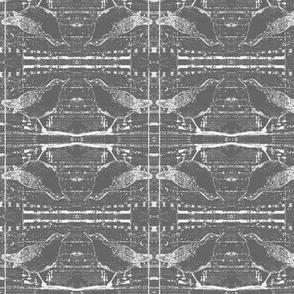 X-ray Birds Deep Grey
