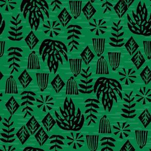 Safari Plants - Kelly Green by Andrea Lauren