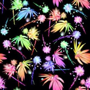 420 Leaf Fireworks