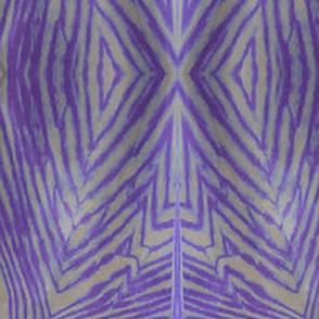 purple and cream shibori
