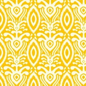 Ikat Rhythm in Goldenrod