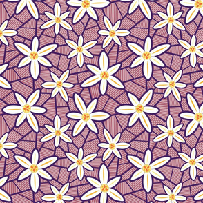 Lilies (Purple)