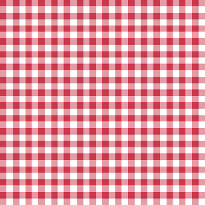 candy cane gingham