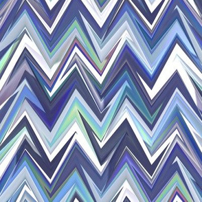 tanzanite zigzag