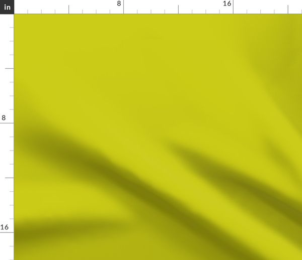 Chartreuse Solid Color Caca0e By Su G Spoonflower