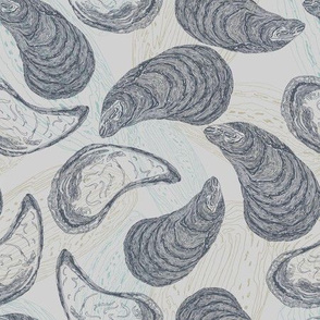 Totaig Mussels - Pale Grey