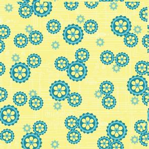 Yellow gears coordinate