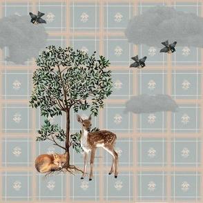 Woodland Sky Gingham