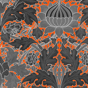William Morris ~ St. James or Growing Damask ~ Halloween