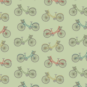 Summer Bicycles green