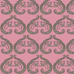 Sew Stylish - Rich Pink & Black