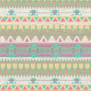 Aztec Tribal Geometric 90s