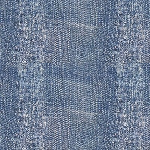 Rustic Country Denim Blue Jeans