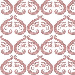 Sew Stylish - Soft Red & White