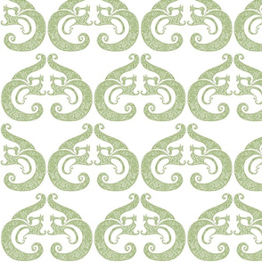 Sew Stylish - Soft Green & White