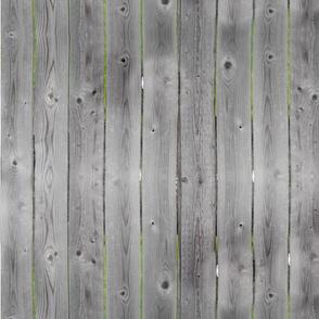 Gray Barnwood Fence Country Wood
