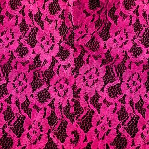Hot Pink Lace