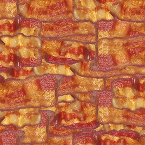 Bacon Strips Photorealistic Foods