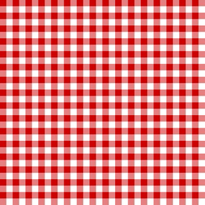English Red gingham