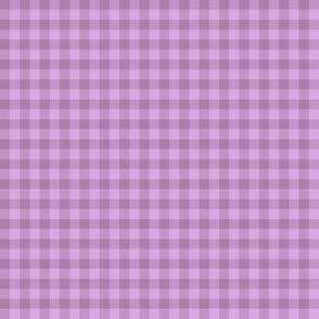 lilac dusk gingham