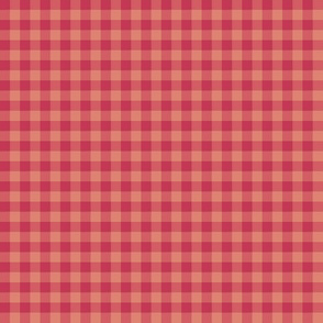 soft red gingham