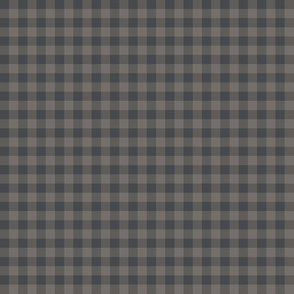 Gingham in ancient greys