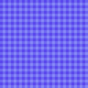 periwinkle gingham
