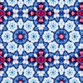cool china blue kaleidoscope
