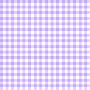 sweet lavender gingham