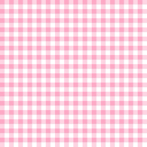 frosting pink gingham