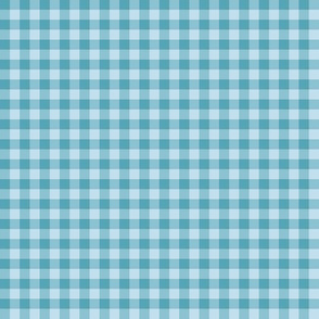forget-me-not gingham