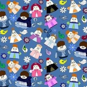 Hawk Dolls New Fabric Group