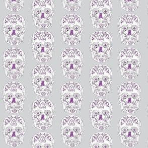 DOTD skull purple and blue