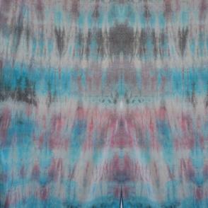 Blue pink and Black Tie Dye