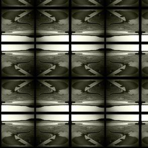 willa ombre stripe | black and white