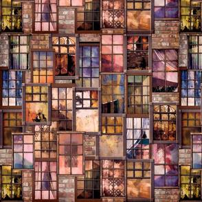 City_Windows_Ser. 2  #4