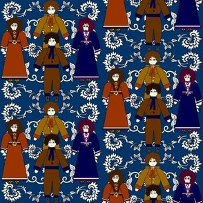 Colonial Doll Fabric1