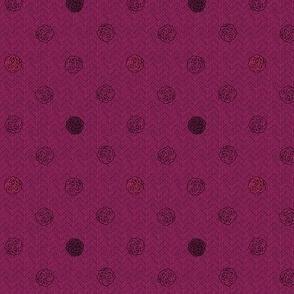 fairy dots 3 raspberry