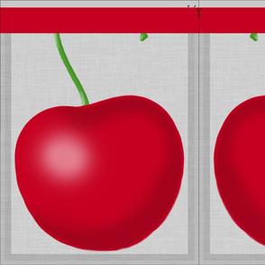 a cheery, cherry, bag