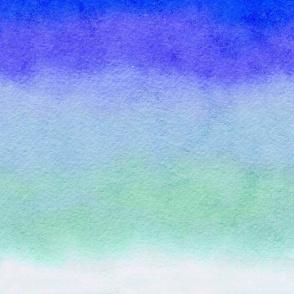 watercolor ombre