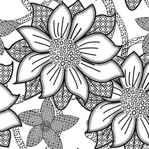 Floral Wallpaper Large
