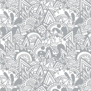 Gray Mayan Fantasy