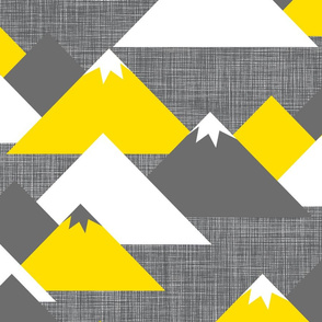 Les Montagnes Wallpaper (big scale)
