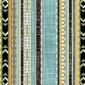 Aztec Linen Stripe